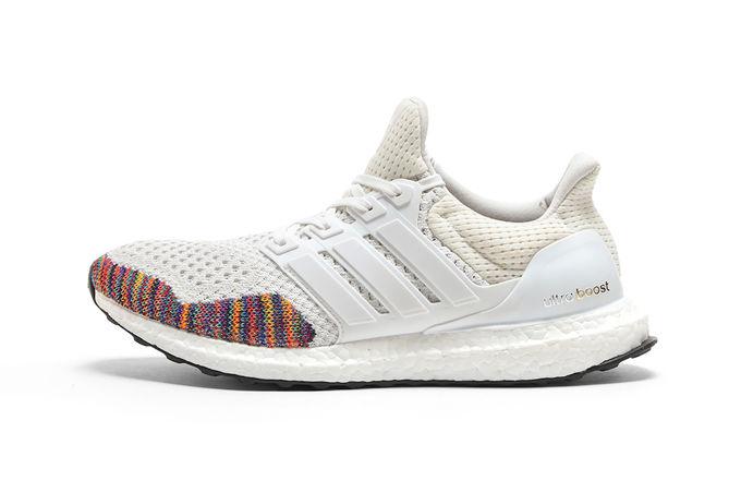 Adidas Ultra Boost White Multicolor